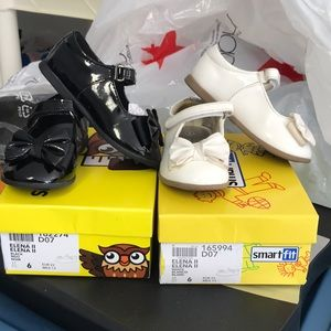 Lot of 2 toddler girl shoes